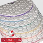 Stadea Granite Polishing Pads Kit Dry - Series Spr A
