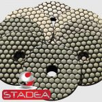 Stadea Granite Polishing Pads Kit Dry - Series Ult D