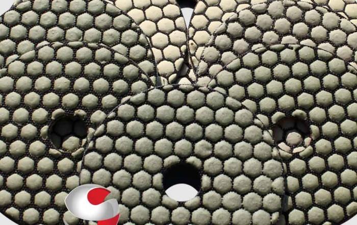 How to polish Granite using diamond polishing discs sanding discs