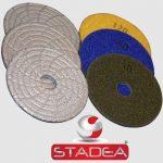 Stadea Dry Diamond Polishing Pads - Series Vbz A