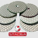 Stadea Granite Polishing Pads Kit Dry - Series Std A