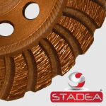 Stadea Diamond Cup Grinding Wheel for Concrete Stone - Series Spr A