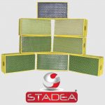 Stadea Diamond Hand Pads Set Marble Stone Concrete Granite Glass - Series Std A