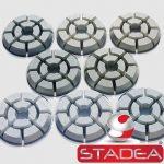 Stadea Diamond Floor Polishing Pads For Concrete Granite Marble - Series Std J