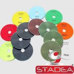 Stadea  Granite Polishing Pads Kit Wet - Series Spr B