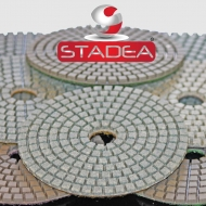 STADEA Premium Grade Wet 4 Diamond Polishing Pads Set For GRANITE MARBLE STONE Polish Shop N Save Diamond Tools DPPW04STDA503K7P