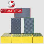 Stadea Diamond Hand Polishing Pads Set Marble Glass Stone Granite Concrete - Series Spr B
